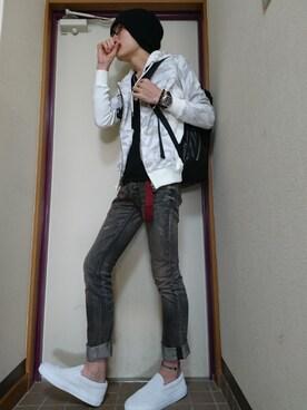 ☆ヨシナルド☆さんの(LOUNGE LIZARD|ラウンジリザード)を使ったコーディネート