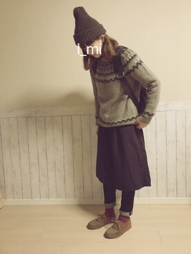 i_miさんの(marimekko|マリメッコ)を使ったコーディネート