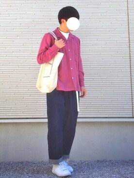 SHUNさんの(GU|ジーユー)を使ったコーディネート