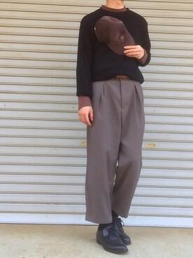SHUNさんの(RODEO CROWNS WIDE BOWL|ロデオクラウンズワイドボウル)を使ったコーディネート