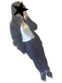 翠月さんの「刺繍入りテーパードデニムパンツ(GRL|グレイル)」を使ったコーディネート