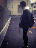「NIKE WMNS TOKI SLIP CANVAS (BLACK/WHITE) (17SU)(NIKE)」 using this Wataru Otsubo looks