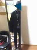 咲かし〜さんの「UAD ベルテッド ハーフ ステンカラー コート†(UNITED ARROWS ユナイテッドアローズ)」を使ったコーディネート