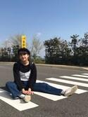 Moe Suzukiさんの「オニツカタイガー メキシコ 66 パラティ Onitsuka Tiger MEXICO 66 PARATY (TH5J4Q) / スニーカー / スリッポン / メンズ / レディース(ONITSUKA TIGER|オニツカタイガー)」を使ったコーディネート