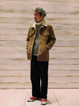 JUNRed グランフロント大阪|fuzeeさんの「【Wrangler】ROUGH COWBOY WRANGE COAT(Wrangler)」を使ったコーディネート