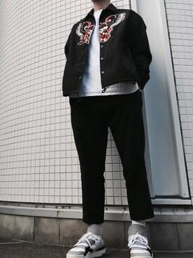 naokiさんの(FACETASM|ファセッタズム)を使ったコーディネート
