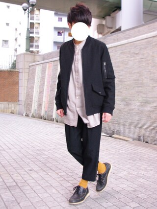 「SAND 7SLEEVE SHIRT ( NEW TEX )(TROVE)」 using this まーしい looks