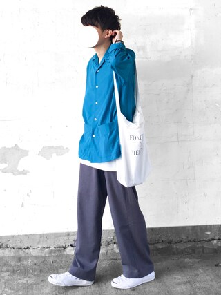 「【A】ワイドスラックス(SENSE OF PLACE by URBAN RESEARCH)」 using this まーしい looks