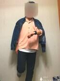 うさまる  フォロバ100✨さんの「サテンカイキンシャツ(HARE)(HARE|ハレ)」を使ったコーディネート