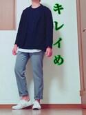 ぺぺっち(プチプラ)さんの「WOMEN ストレッチジャケット+E(ユニクロ|ユニクロ)」を使ったコーディネート