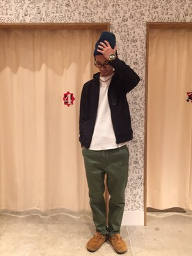 coen FIND GOOD LUCKマリンピア神戸店|池島 正敏さんの(coen|コーエン)を使ったコーディネート