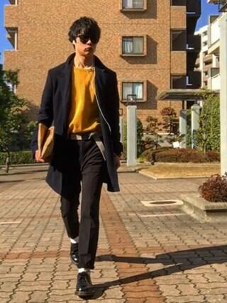 Tetsuさんの「LHP/エルエイチピー/PRADA/プラダ/Sunglasses 01RSF 1AB/1A1(PRADA|プラダ)」を使ったコーディネート