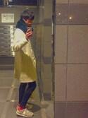 Tetsuさんの「WOMEN ウルトラストレッチジーンズA(ユニクロ|ユニクロ)」を使ったコーディネート