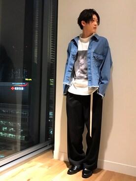 HARE本社|nishizawa/HAREさんの(HARE|ハレ)を使ったコーディネート