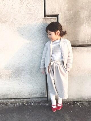 miiio++さんの「ピーチ起毛MA-1(CIAOPANIC TYPY チャオパニックティピー)」を使ったコーディネート