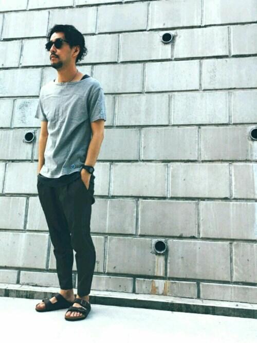 オーシバルバスクシャツ×インナーレイヤード 画像1