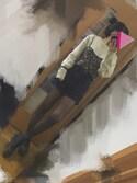 ニシジマさんの「靴下屋/ 強くて丈夫なストッキング M~L(靴下屋|クツシタヤ)」を使ったコーディネート