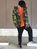 たけるん is wearing H&M