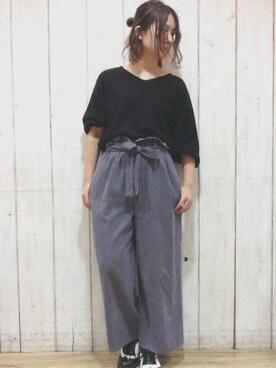 Miyu Kasaiさんの(ROPE' PICNIC|ロペピクニック)を使ったコーディネート