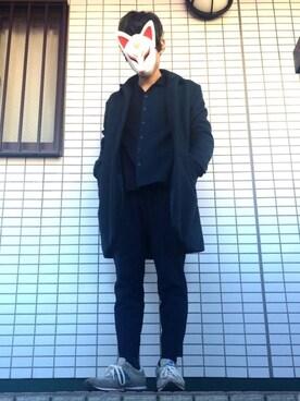 tomoyaさんの(STUDIOUS|ステュディオス)を使ったコーディネート