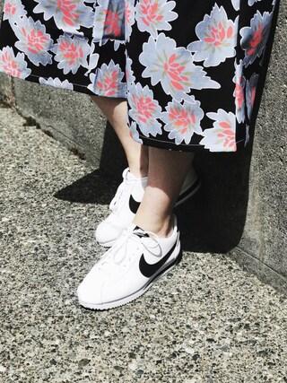 「Nike Classic Cortez Sneaker(Nike)」 using this Jessie looks