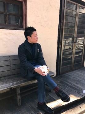 45R 銀座店|川上 峻 (TAKA)さんの(TOMORROWLAND|トゥモローランド)を使ったコーディネート