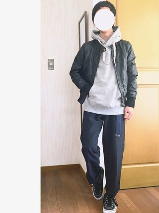 「裏起毛ストレッチ スタンド長袖プルパーカー(SEVENDAYS=SUNDAY)」 using this ⚐ Nаoki ⚑ looks