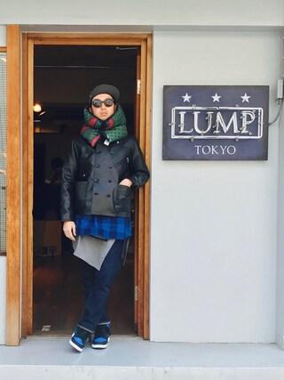 下野宏明さんの「LEATHER JACKET(WHIZ LIMITED|ウィズリミテッド)」を使ったコーディネート