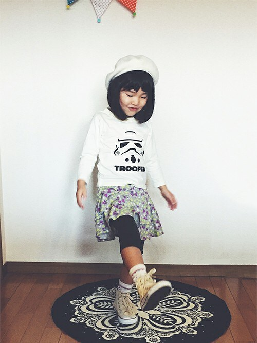 0856eda4e2462 フェリシモキッズ(felissimo KIDS)|フェリシモキッズのTシャツ カットソーを使ったコーディネート - WEAR