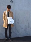 masashiさんの「KURO(クロ)/Fibro Modern VW 03(KURO|クロ)」を使ったコーディネート