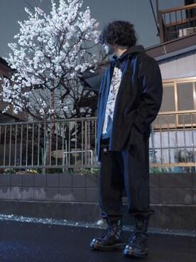 randolejdkaさんの(Yohji Yamamoto POUR HOMME|ヨウジヤマモトプールオム)を使ったコーディネート