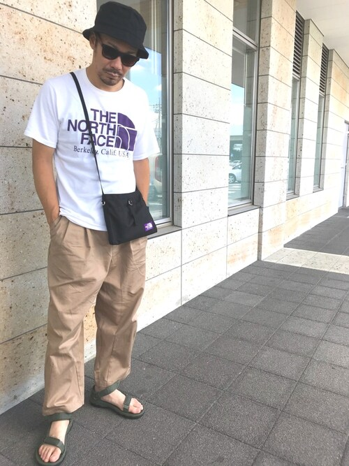 0545e8929 GOSSHI|THE NORTH FACE PURPLE LABELのTシャツ・カットソーを使った ...