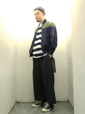 Paak Chanさんの(MIHARAYASUHIRO|ミハラヤスヒロ)を使ったコーディネート