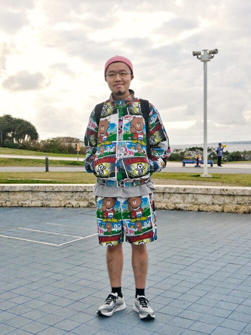 Paak Chan使用(INFIELDER DESIGN)的時尚穿搭