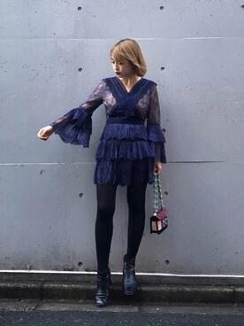 MIDWEST TOKYO WOMEN|Risa Suzukiさんの「SALAR MILANO 『GAIA MULTI』ショルダーバッグ(SALAR)」を使ったコーディネート