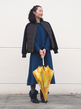 KiU|w.p.c-officialさんの「w.p.c 雨傘ルナ(w.p.c)」を使ったコーディネート