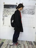 w.p.c-officialさんの「【OPEN記念】ユニセックススタンダードアンブレラ(w.p.c|ダブルピーシー)」を使ったコーディネート
