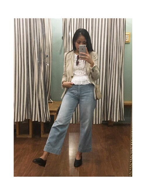 Tiffany  | ティファニー is wearing Abercrombie&Fitch