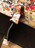 """Rin is wearing Calvin Klein Underwear """"MODERN COTTON ブラレット"""""""