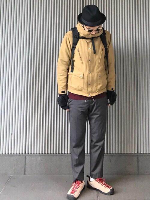 メンズハットコーデ:冬 画像1