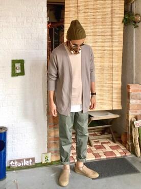 ぼんじり。さんの(URBAN RESEARCH DOORS MENS|アーバンリサーチ ドアーズ メンズ)を使ったコーディネート