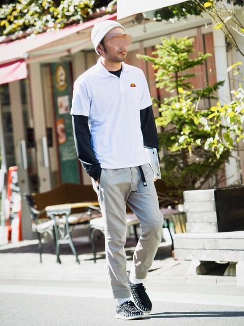 23度 服装 メンズコーデ クライミングパンツ 画像3
