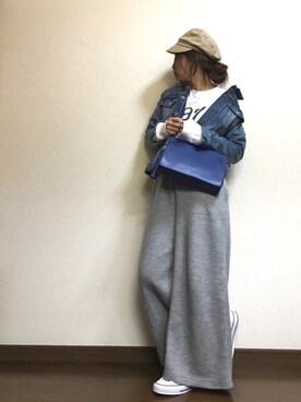 yumiさんの「マリンキャス/739538(GLOBAL WORK)」を使ったコーディネート