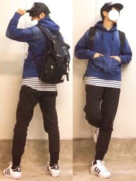 (adidas) using this Mr.SZK【みすたーすずき】 looks