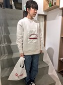 mnishimuraさんの「マーケットバッグ(I am I in fact...|アイアムアイ インファクト)」を使ったコーディネート