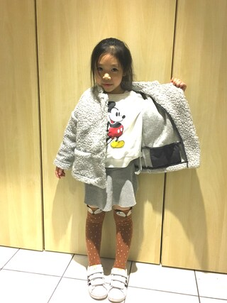 (ZARA KIDS) using this Mi_home looks