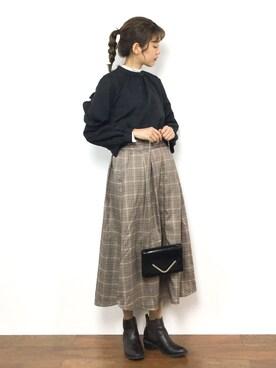 ZOZOTOWN|yukiさんの「グルカスカート(FREAK'S STORE)」を使ったコーディネート