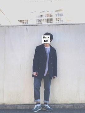 はらこーさんの(TAKAHIRO MIYASHITA The SoloIst. タカヒロ  ミヤシタ ザ ソロイスト)を使ったコーディネート
