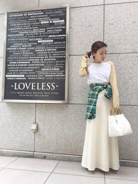 LOVELESS青山|momoさんの(GUILD PRIME|ギルドプライム)を使ったコーディネート