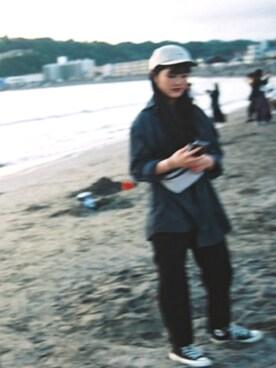 Yuki Hamaguchiさんの(CONVERSE|コンバース)を使ったコーディネート